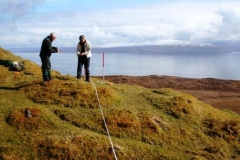 ian-and-wendy-on-raasay-looking-over-to-applecross
