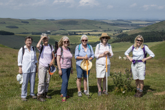 The Halterburn survey team fresh on the first day of the 2021 July survey