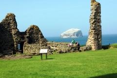 Tantallon Castle and Bass Rock