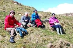 Ceann a Mhara survey team