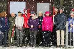 Group in the snow 2