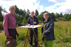 plane-table-recording-at-Drumshanty-flax-mill-excavation-